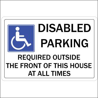 Disabled Parking 1