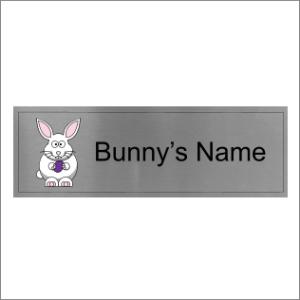Rabbit Cage Sign
