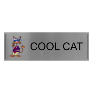Cool Cat Sign