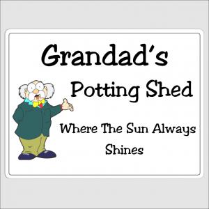 Grandads Potting Shed 1