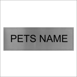 Pets Name Sign