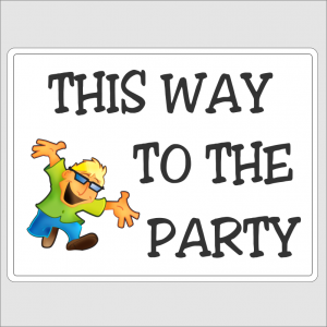 This Way To The Party 1