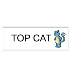 Top Cat Sign