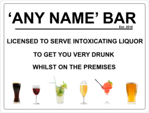 Bar Sign 1