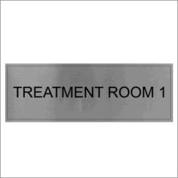 Treatment Room 1 Sign