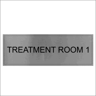 Treatment Room 1 Sign