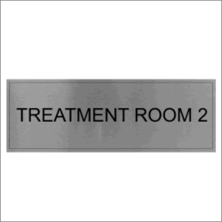 Treatment Room 2 Sign