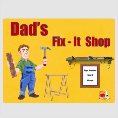 Dads Fix it shop 1