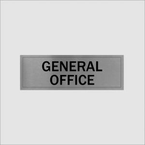 General Office Sign