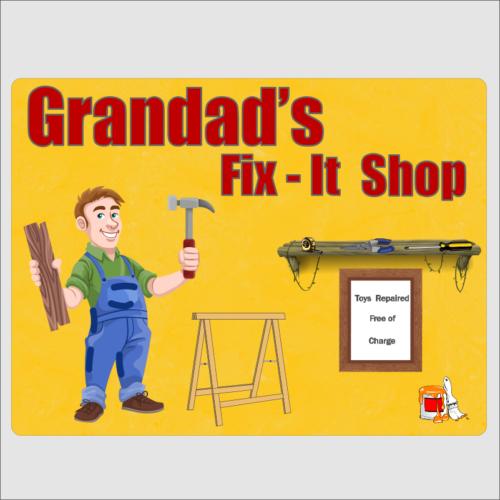 Grandads Fix It Shop