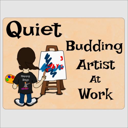 budding artist 1