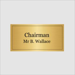 Chairman Gold