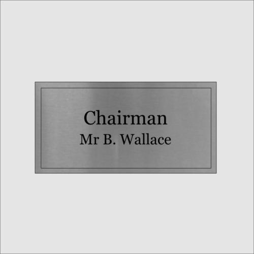 Chairman Silver