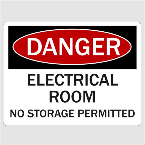 Danger Electrical Room