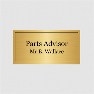 Parts Advisor Gold