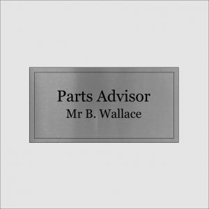 Parts Advisor Silver