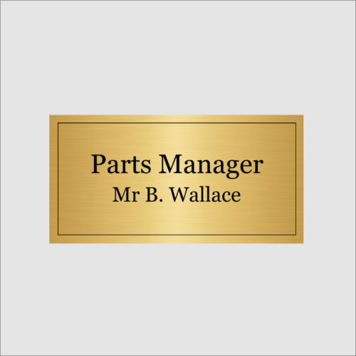 Parts Manager Gold