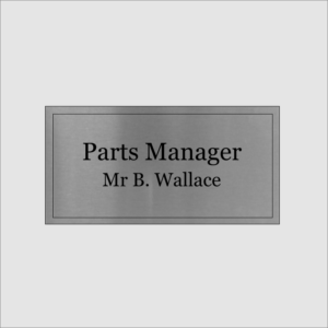 Parts Manager Gold Silver