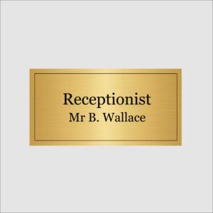 Receptionist Gold