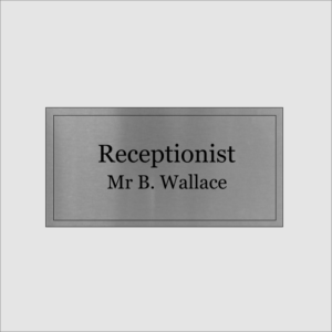 Receptionist Silver
