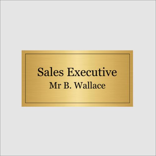 Sales Executive Gold