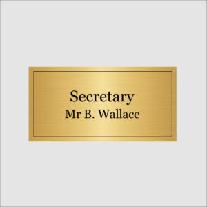 Secretary Gold