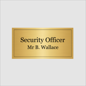 Security Officer Gold