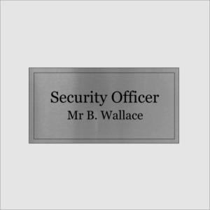 Security Officer Silver
