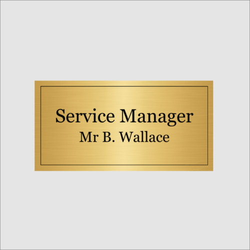 Service Mangager Silver Gold