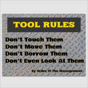 Tools Rules