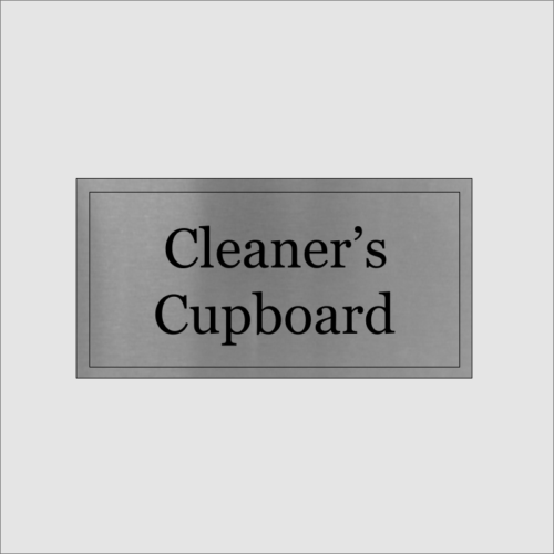 Cleaners Cupboard