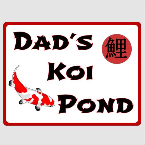 Dads Koi Pond