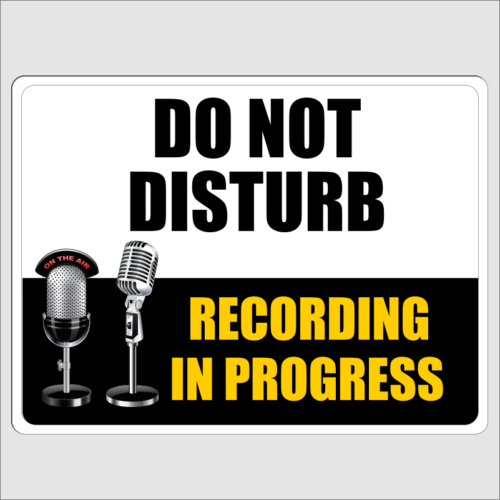 Do Not Disturb Recording In Progress