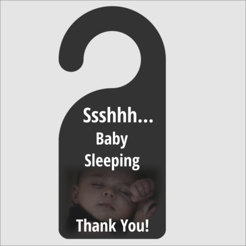 ssshh baby sleeping