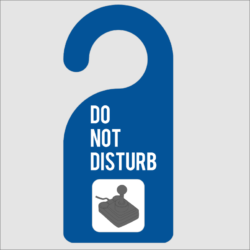Do Not Disturb Gaming Door Hanger