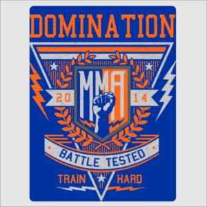 Domination MMA Sign