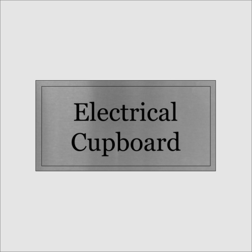 Electrical Cupboard Sign