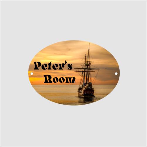 Oval Boys Room Ship