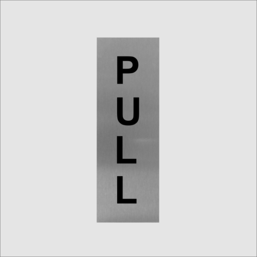 Pull Office Sign