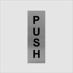 Push Office Sign