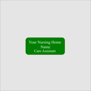 Personalised Nursing Home Name Badge
