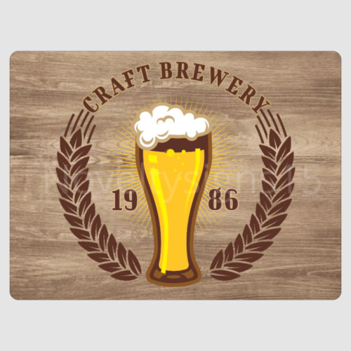 Craft Brewery Sign