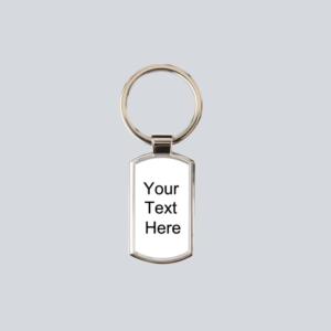 Personalised Keyring