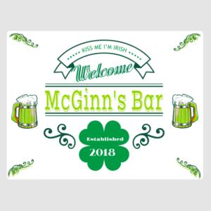 St Patricks Bar Sign