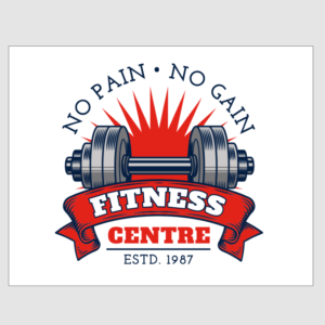 No Pain No Gain Fitness Centre Sign