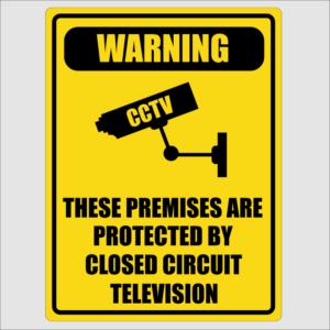 Warning Sign CCTV