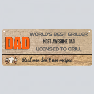Fathers Day Plaque Gift