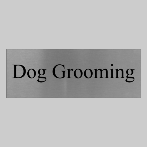 Dog Grooming Sign