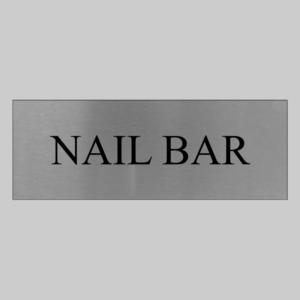 Nail Bar Sign