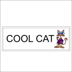 Cool Cat Sign